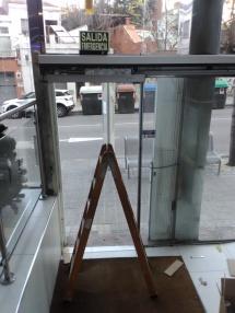 Reparación de puerta automatica
